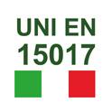 CERTIFICATE UNI EU 15017