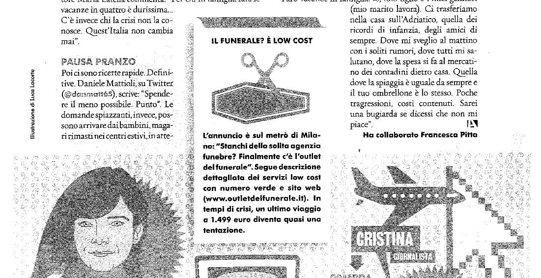 Funerali low cost a Milano e provincia con Outlet del funerale