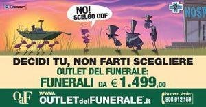 Outlet del Funerale Pubblicità