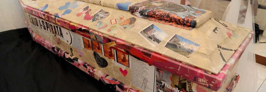 Come decorare con decoupage una bara