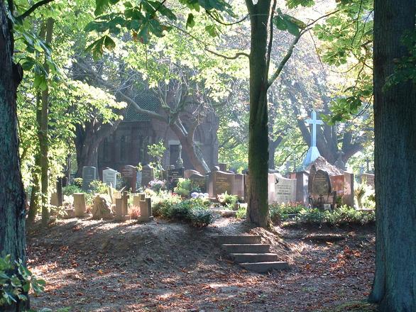 Cimitero dove sono sepolti tutti i Papi