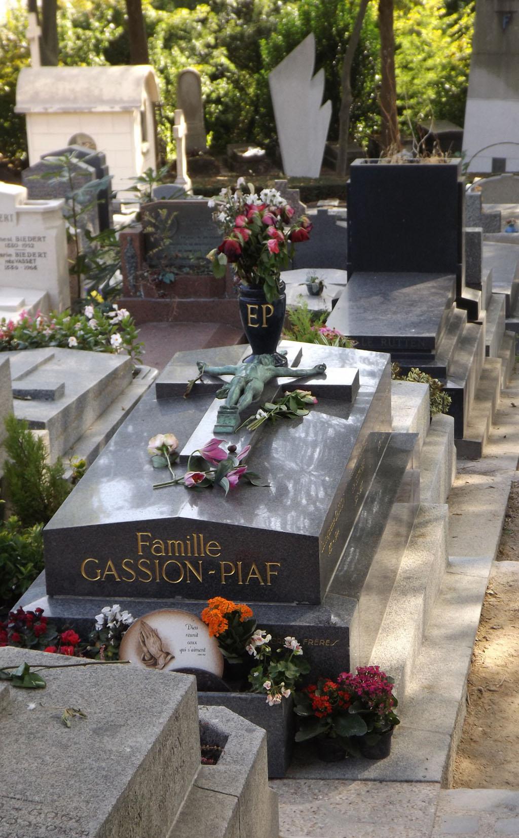 Cimitero dove è sepolta Edith Piaf
