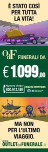 Pubblicità di Outlet del Funerale