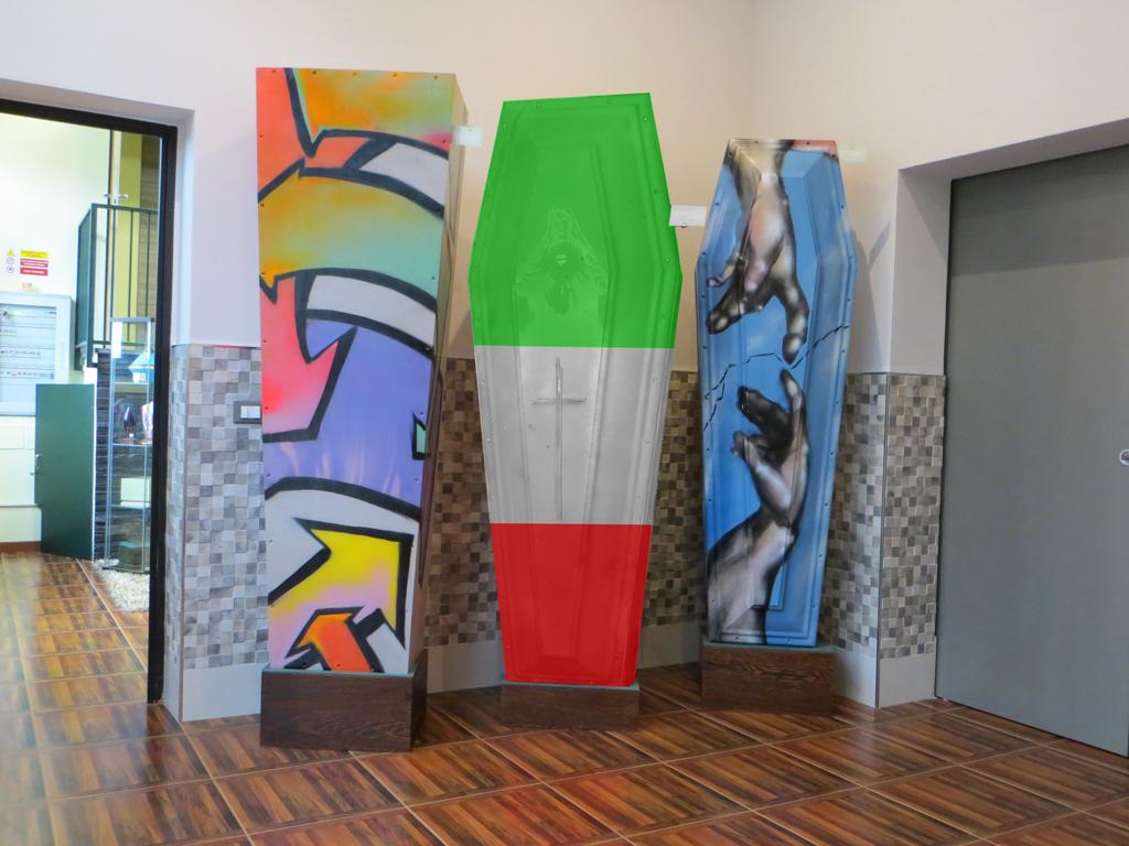 Bara personalizzata con la bandiera tricolore italiana? Chi la vorrebbe?