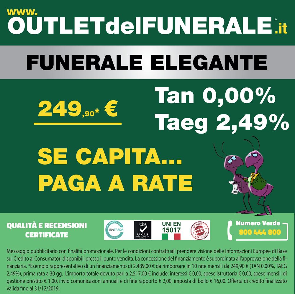 Outlet del Funerale pratica interesse 0