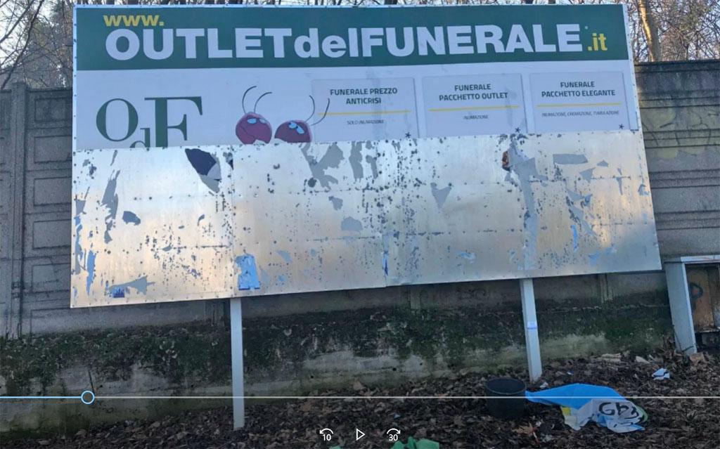 Outlet del funerale - video